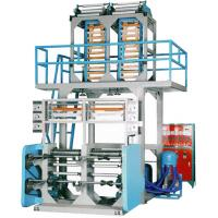 Buy cheap Double Head PE Film Extrusion Machine 1 machine to give double film rolls product