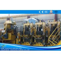 Buy cheap Large Size Yellow ERW Pipe Mill Pipe Making Machine Round Shape Max 25m / Min Speed product