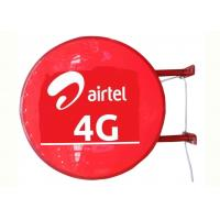 Buy cheap Airtel 4G Sign Vacuum Forming Light Box , Telecom Operators Aficia Vodafone Store Sign product