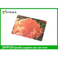 Buy cheap Colorful Printed Dining Table Placemats Anti Slip OEM / ODM Available 45X30CM product