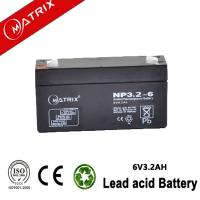 Buy cheap 6V 3.2AH AGM BATTERY from wholesalers