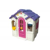 Buy cheap Children Loving Plastic Toy House Galvanized Pipe Material CE Certificate product