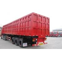 Buy cheap Hydraulic Cylinder Heavy Duty Dump Truck Trailer 3 Axles For Sand Stone Transportion product