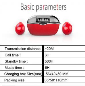 Buy cheap TWS Bluetooth Headset 5.0 True Wireless Double-in-ear Mini-touch Motion Water-proof Earphone product