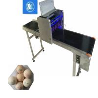 Date Code Egg Marking Equipment With 90 -120 Eggs / Min Printing Speed