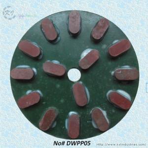 Quality Placa de lustro da resina para o granito e o mármore de lustro molhados for sale