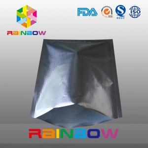 Buy cheap Embossed texture aluminum foil vacuum seal bags for food packaging from wholesalers