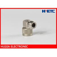 Buy cheap N Type Male To Female Antenna Connector , 0 - 6 GHz R/A RF Connector Adapter product