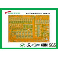 Buy cheap Mortherboard Quick Turn Printed Circuit Boards  with Yellow Solder Mask FR4 1.6MM product