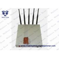 Buy cheap 5 Band Remote Control Jammer Cellphone Lojack GPS Signal Jammer product