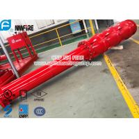 Buy cheap Big Flow 4 Stage Vertical Shaft Turbine Fire Pump , 4500 Usgpm Deep Well Pump product
