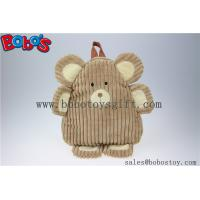 "Buy cheap 11.8""Lovely Brown Bear Children Backpack Bos-1234/30cm product"