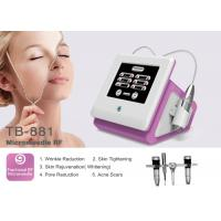 Buy cheap Fractional RF Micro Needle Machine Pinxel Radio Frequency For Wrinkle Removal Skin Tightening from wholesalers