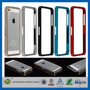 Buy cheap フレームの Iphone 5 のための豊富な Apple の携帯電話の箱カバー スライドのアルミニウム金属 product