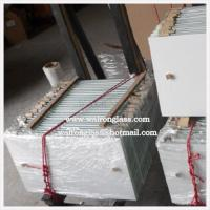 Buy cheap el ácido de 4-12m m grabado al agua fuerte helado moderado/endureció el vidrio con los agujeros product