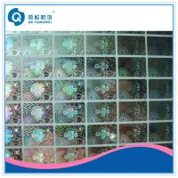 Buy cheap Silver Custom Hologram Stickers , PET Security Waterproof Vinyl Labels product