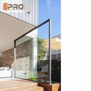 Buy cheap Transparent Glass Aluminum Pivot Doors For Residential Air Tightness Pivot front door Pivot Exterior door,pivot hinge product