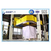 Buy cheap Fully Wrapped Winding Pallet Wrapping Machine Automatic Control Labor Saving product