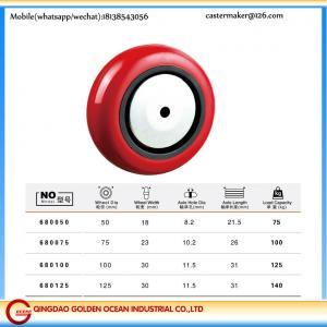 50mm 75mm 100mm 125mm light duty pu pvc wheel