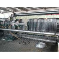 Buy cheap PVC / Galvanized Gabion Machine / Hexagonal Wire Mesh Machine SGS TUV product