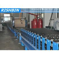 China 30 KW German Tech Roll Forming Machine with 15 Rows For PU Sandwich Panel wholesale
