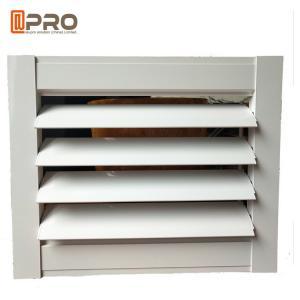 Buy cheap Horizontal Vertical Aluminum Aerofoil Sunshade Shutter Louver Adjust Light Function product