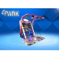 China Coin Operated Arcade Dancing Game Machine Fashion And Atttractive on sale