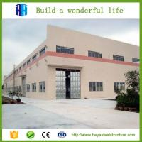 China prefab steel structure fabricated godown warehouse materials design on sale