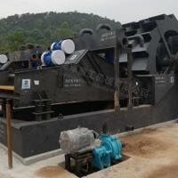 Buy cheap Mining Industrial Sand Plant Equipment Q245R Steel Wheel Material 52.5kw Condition New product