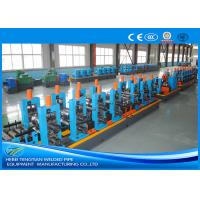 Buy cheap Adjustable Pipe Size Steel Pipe Production Line Carbon Steel With 100m / Min Running Speed product