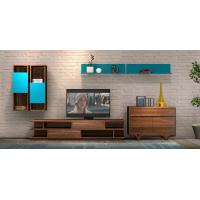 Buy cheap 2017 New Living room Furniture TV Wall Unit Floor stand Hang cabinet in MDF melamine with High glossy panel product