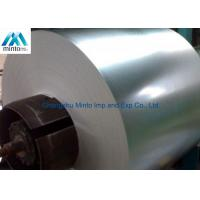 Buy cheap Hot Rolled Coil Steel Galvanized Sheet Metal Rolls Regular Spangle Surface product