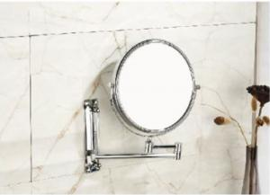 Buy cheap good quality wall mount bathroom vanity concave Make Up Magnifying swivel mirror product