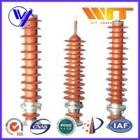 Buy cheap 39KV - 51KV Electronic Substation Lightning Arrester with Polymer Housing product