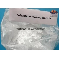 Buy cheap High Purity Male Sex Enhance Steroids Yohimbine HCL CAS 65-19-0 product