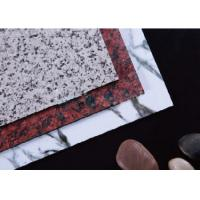 Quality Granite Marble Effect  Aluminum Composite Panel for sale