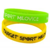 Buy cheap Promotional custom rubber silicone band,silicone bracelet,silicone wristband from wholesalers