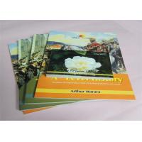 Buy cheap Commercial Offset Printed Softcover Book Full Color / One Color Case Bound product