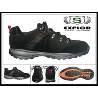 China Men's safety shoes comfortable work shoes with steel toe safety shoes black on sale
