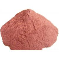 Buy cheap Light Red Irregular Powdered Copper Metal 80 Mesh For Welding Electrode product