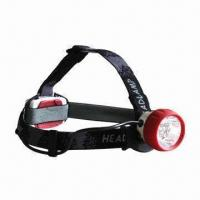 Buy cheap 7x5mm LED headlamp with waterproof IPX4 and 180 hours continuous working product