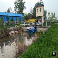 Buy cheap 2000m2/H Depth 0.6m Lake Water Cleaning Machine Weed Harvester Boat product