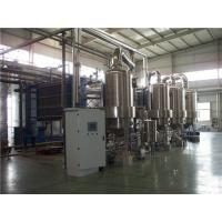 Stacked Panel Multiple Effect Evaporation , Falling Film Evaporator  System For Pharmacy Refinery