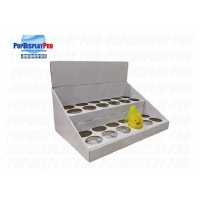 Buy cheap Round Hole Dividers 1 Tier FSC End Cap Displays product