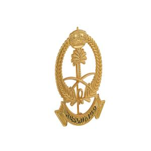 Buy cheap United Arab Emirates Government Golden Party Badge Shiny 3d Embossed product