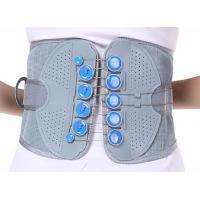 China hand pull line rope waist support brace draw-string Medical Lumbar Back Belt tourmaline wholesale