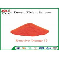 Buy cheap Textile Synthetic Fiber Reactive Dye C I Reactive Orange 13 100% Purity product