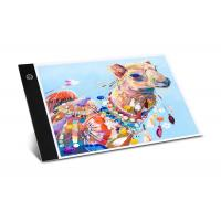 China Ultra Thin LED Tracing Light Box A4 LED Painting Tracing Board Acrylic Material on sale