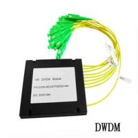 Buy cheap 8CH Fiber Optic communication DWDM , Dense Wavelength Division Multiplexer product