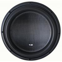 China Deep bass High performance Competition Car Subwoofers , RMS 2000W 12 Inch  Subwoofer wholesale